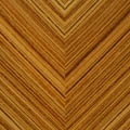 Wood-zebrano chevron